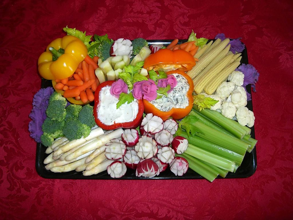 Creating The Perfect Vegetable Tray