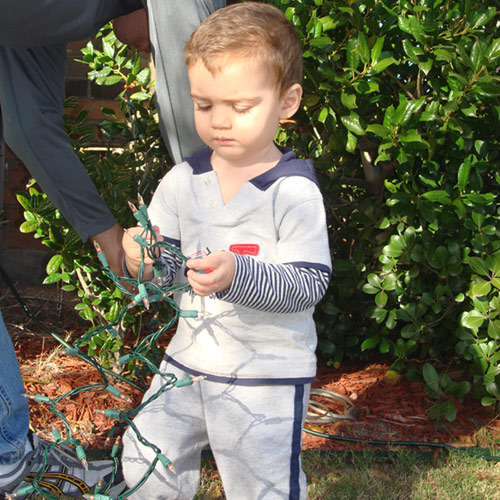 Why Not Include Your Kids in the Fun of Christmas Light Installation Projects?