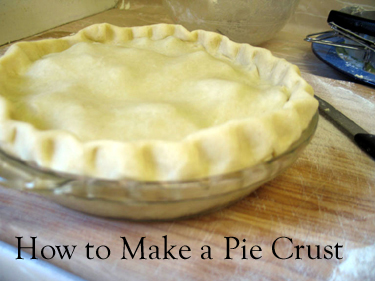 Making, Rolling Out and Baking a Pie CrustMaking, Rolling Out and Baking a Pie Crust