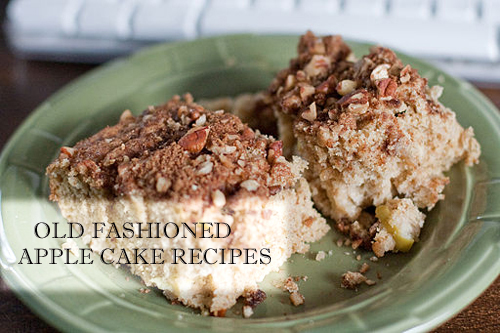 Apple Cake Recipes