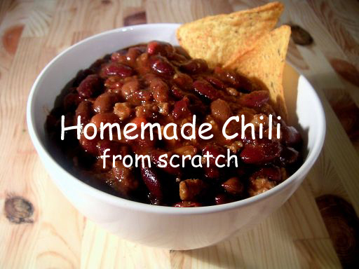 Homemade Chili from Scratch