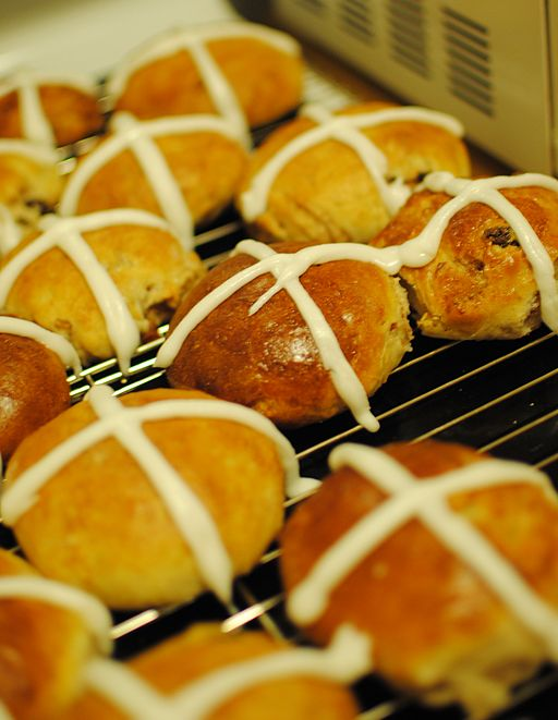 The Pretty Good For You Hot Cross Buns