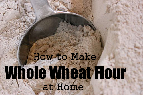 How to Make Whole Wheat Flour at Home