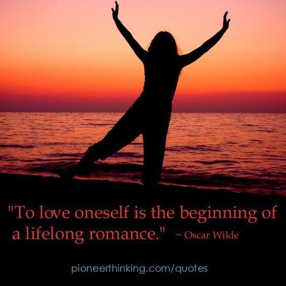 To Love Oneself - Oscar Wilde
