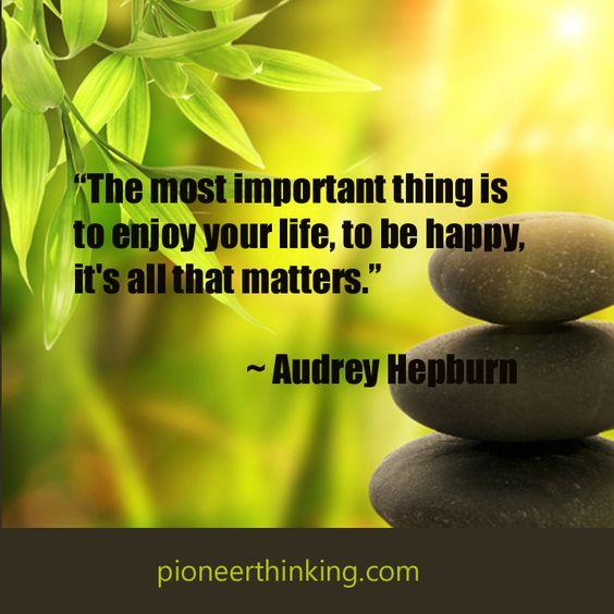 Be Happy - Audrey Hepburn