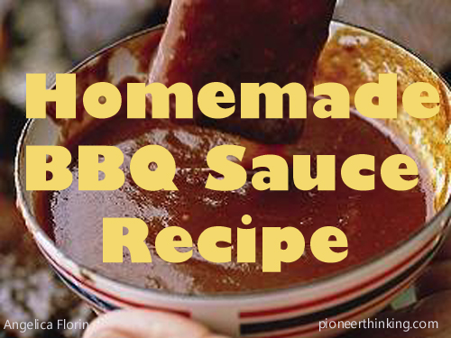 BBQ Sauce Recipe - How to Make a Great Sauce for Basting