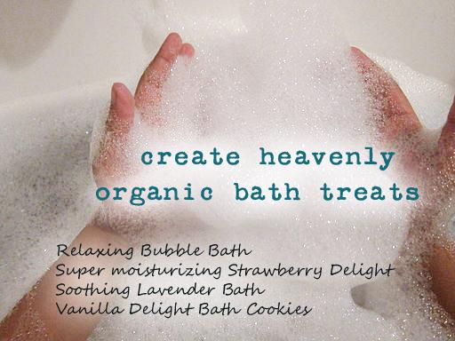 Organic Bath Recipes