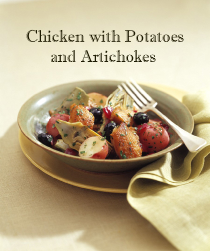 Chicken with Potatoes and Artichokes