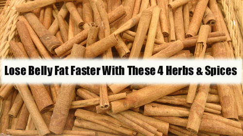 Lose Belly Fat Faster with These 4 Herbs and Spices