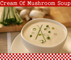 how to make cream of mushroom