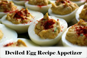 Deviled Egg Recipe Appetizer