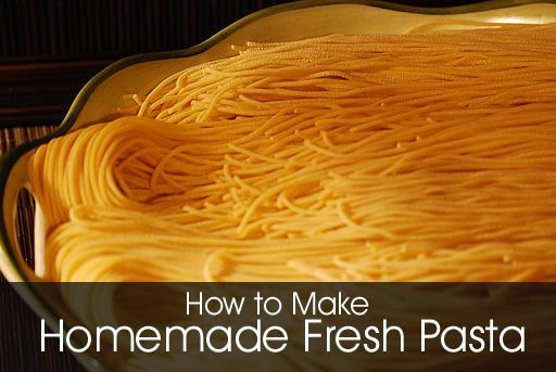 Homemade Fresh Pasta - Create Fresh Pasta Easily