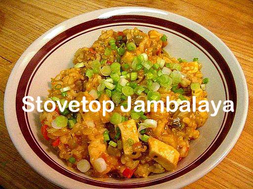 Stovetop Jambalaya