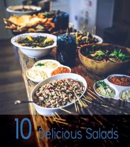 10 Delicious Salads