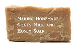 Making Homemade Goat's Milk and Honey Soap