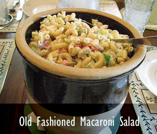 How To Make Old Fashioned Macaroni Salads