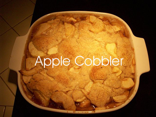 Indian Pudding and Apple Cobbler