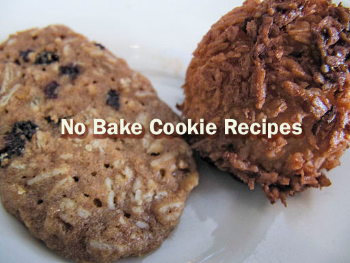 Cookies - No Bake Cookie Recipes