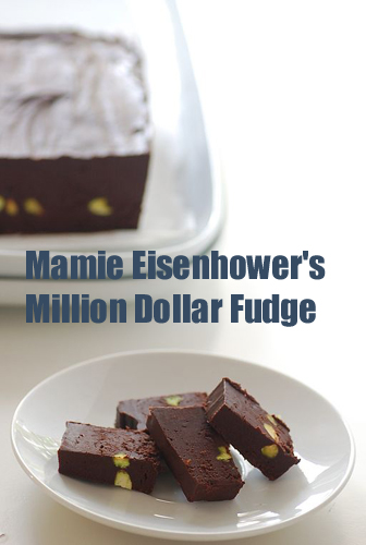 How to Make Mamie Eisenhower's Million Dollar Fudge and Molasses Peanut Brittle