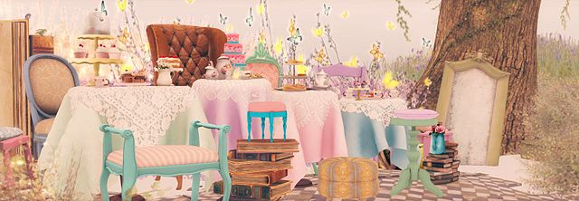The Old Fashioned Tea Party with Rose Tea