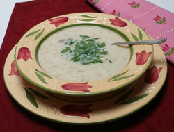 Chilled Garlic and Onion Soup