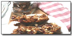 Whole Wheat and Dried Fruit Crunch