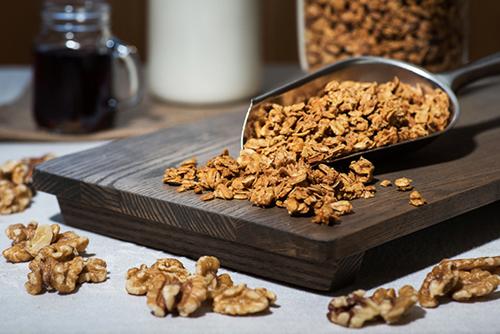 Maple Walnut Granola