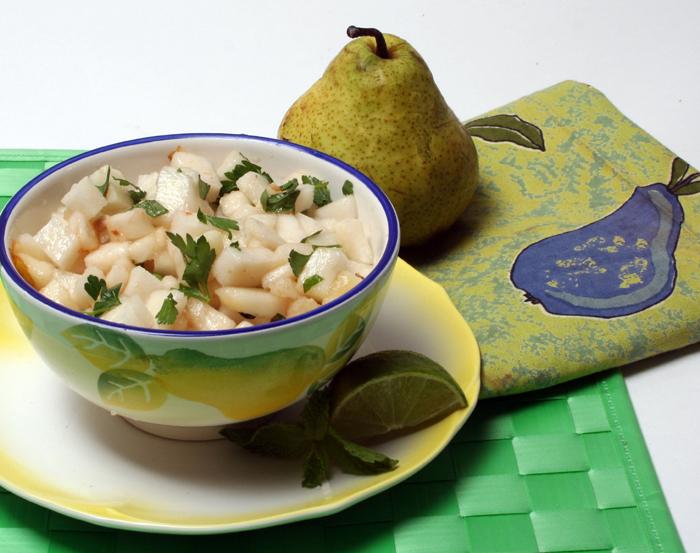 Pear and Jicama Salsa
