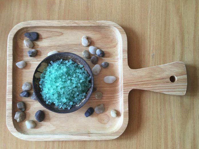 Ocean Blue Bath Salt Recipe