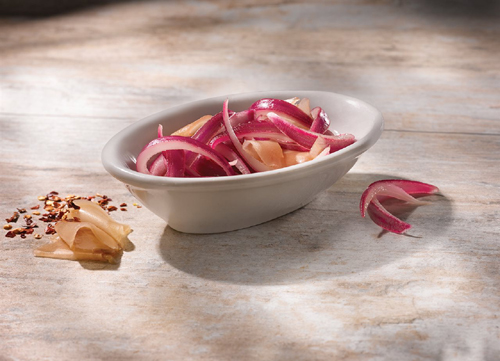 Pickled Ginger Onion Relish