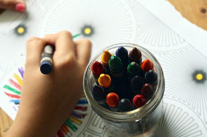 Crayon Wax Melting Art