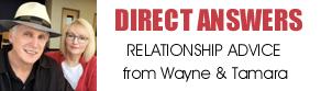 Wayne and Tamara relationship advice