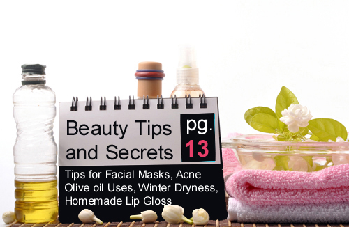 Readers Beauty Tips and Secrets - page 13