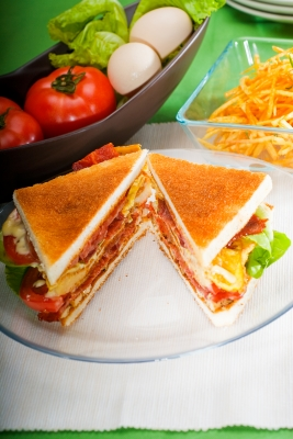 Quick and Easy to Make Clubhouse Sandwich Recipe