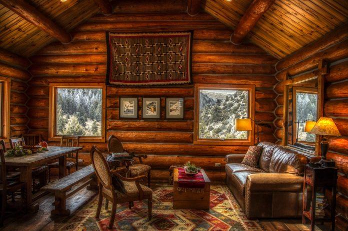 Rustic Log Cabin Decorating