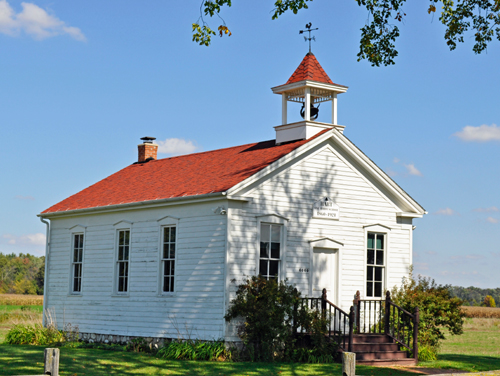 History of the North American Pioneer Schoolhouse
