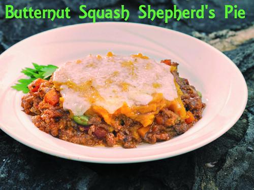 Butternut Squash Shepherd's Pie