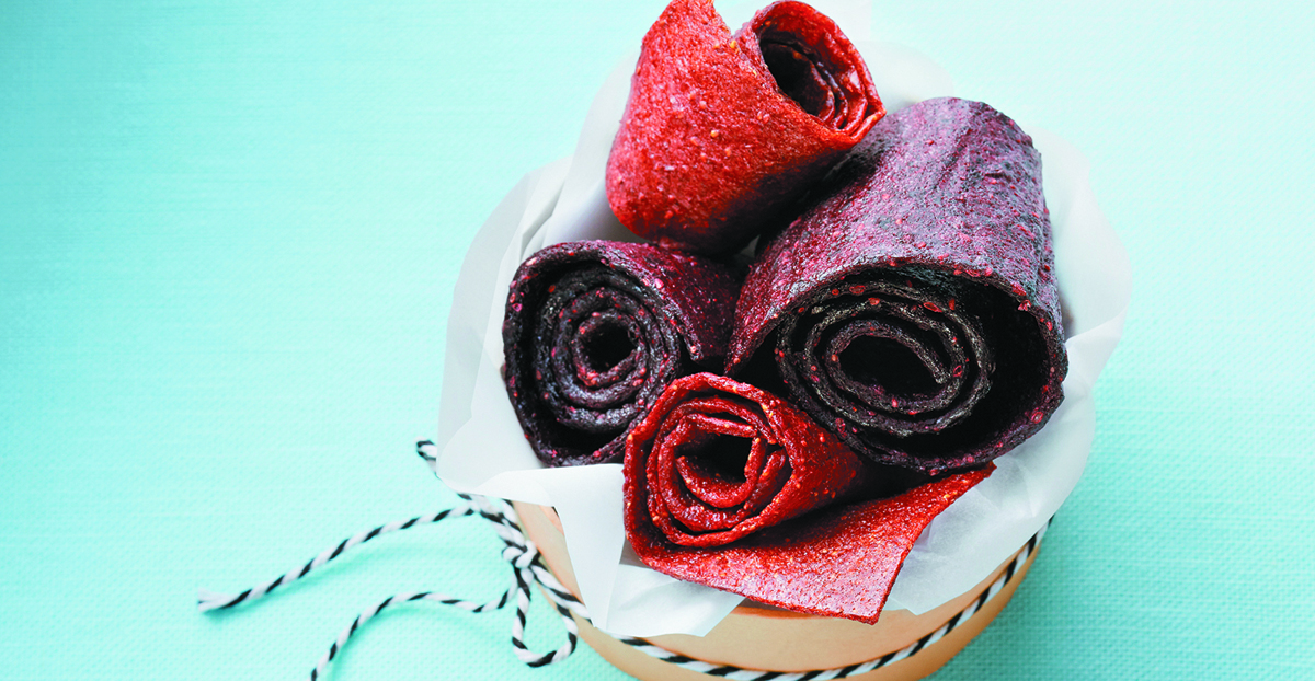 Homemade Fruit Roll Treats