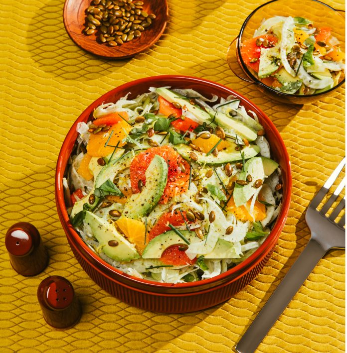 Fennel, Orange and Avocado Salad