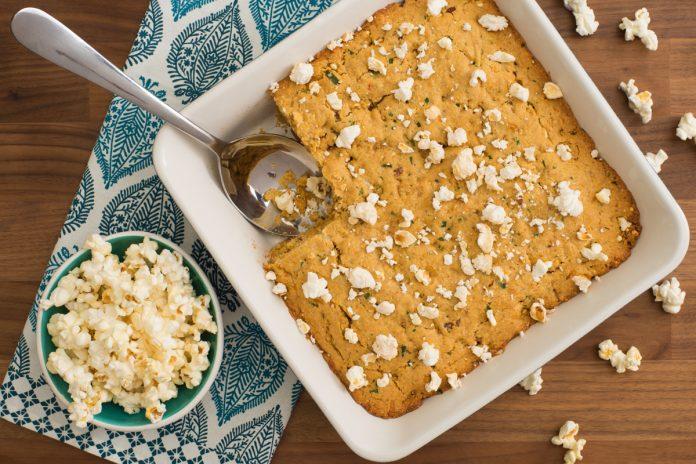 Herbed Popcorn Cornbread