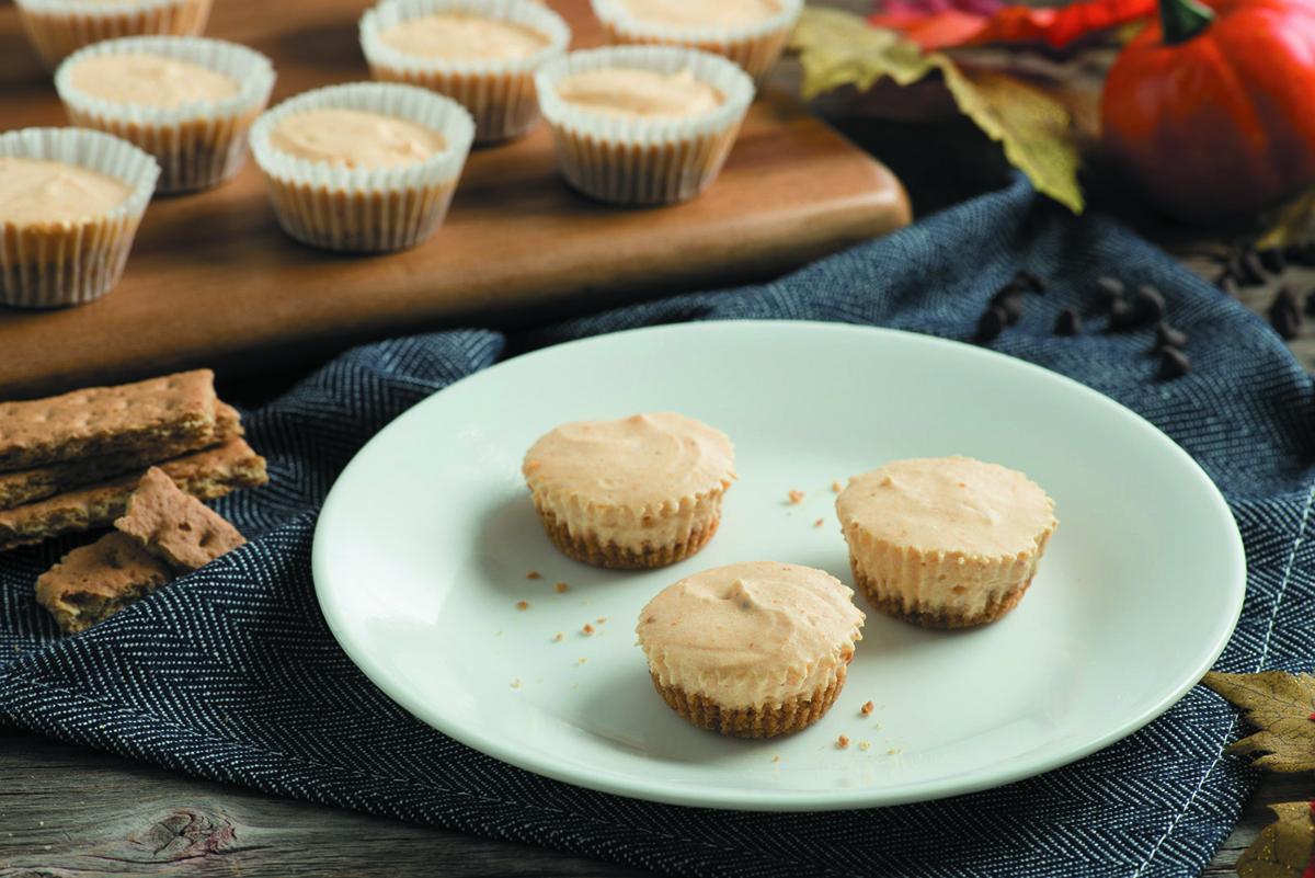 Mini No-Bake Pumpkin Cheesecake Recipe
