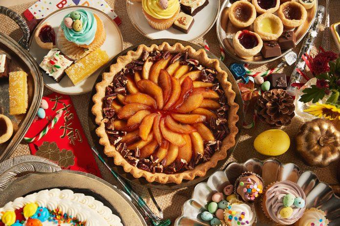 Layered Pumpkin-Apple Pie