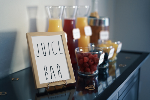 Belly Up to The Juice Bar