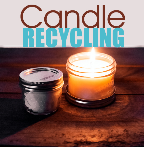 Candle Waste Verses Candle Use by Recycling