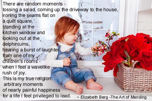 There Are Random Moments - Elizabeth Berg