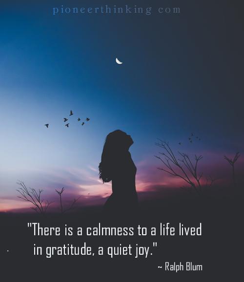 Life Lived in Gratitude - Ralph Blum