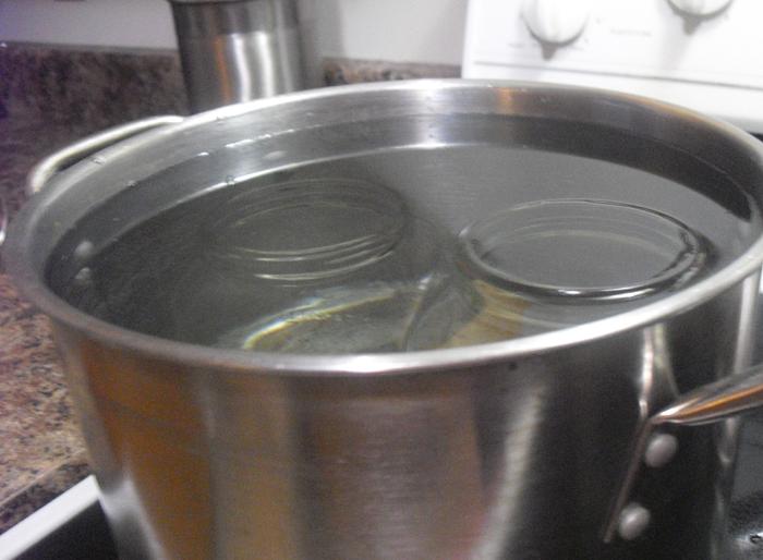 Sterilizing Jars for Canning
