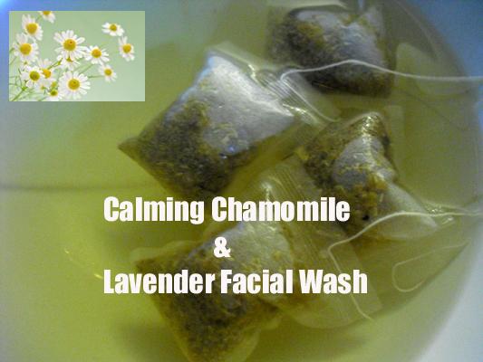 Calming Chamomile & Lavender Facial Wash