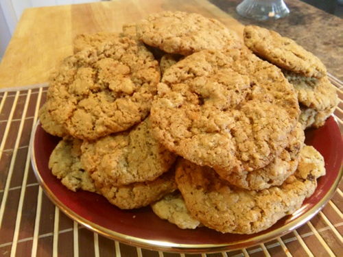 Decadent Oatmeal Cookie Pile