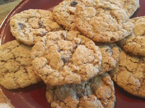 Decadent Oatmeal Raisin Walnut Cookies